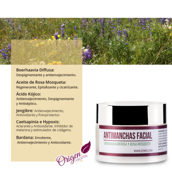 crema facial antimanchas