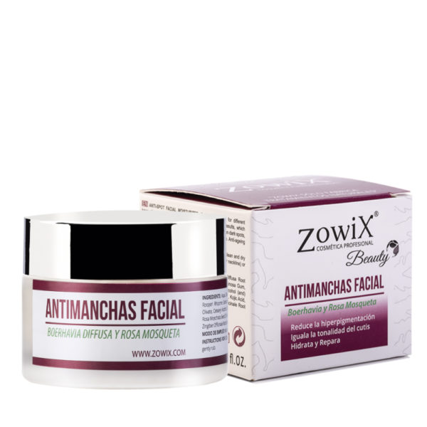 crema antimanchas facial
